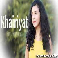 Khairiyat - Chhichhore (Female Version) Shreya Karmakar Poster