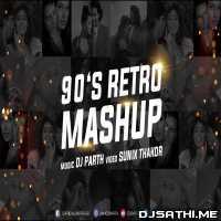 Bollywood 90's Retro Mashup - DJ PARTH Poster