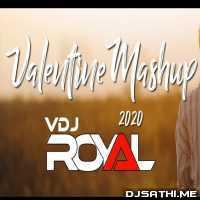 Valentine Mashup 2020 - VDj Royal Poster