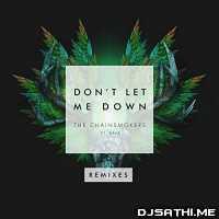 Dil Nahi Lagda Vs Dont Let Me Down (Remix) - DJ Ankit Mumbai Poster