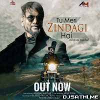 Tu Meri Zindagi Hai Cover - Ashwani Machal Poster