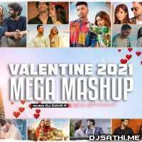 Valentine Mega Mashup 2021 - DJ Dave NYC Poster