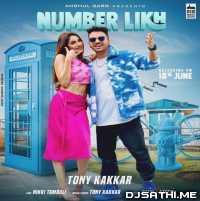 Number Likh - Tony Kakkar Poster